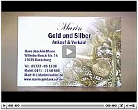 Unser Goldankauf Info-Video